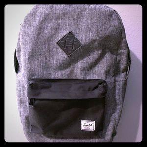 Nice gray Hershel bag
